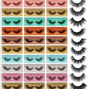🎉HP🎉 16-20MM Mink Eyelashes (set of 3 Sizes)